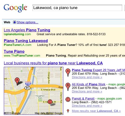 Lakewood Piano Tuner