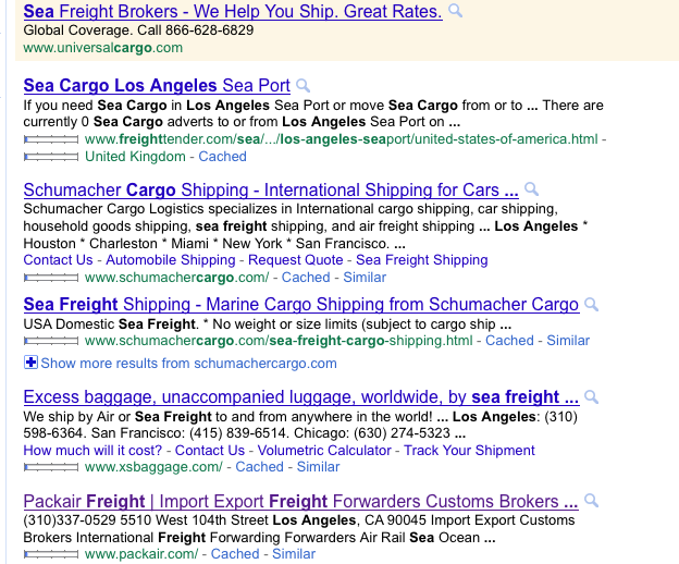 how to search google usa from abroad